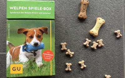 Leselotte: Welpen-Spiele-Box